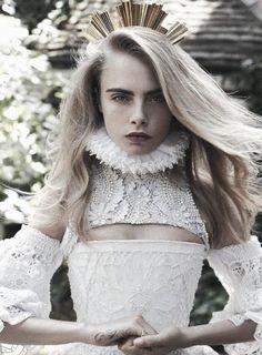 voguelovesme: Cara Delevingne by Benny Horne for Vogue Australia October 2013