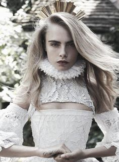 voguelovesme:  Cara Delevingne by Benny Horne for Vogue Australia October 2013