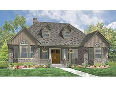 ePlans Country House Plan – Country & Craftsman Melded in Split Bedroom Ranch– 1793 Square Feet and 3 Bedrooms from ePlans – House Plan Code HWEPL75930