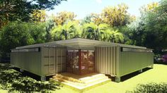 Build A Container Home Shipping Container Buildings, Shipping Container Home Designs, Shipping Containers, Container Shop, Container House Design, Container Architecture, Architecture Design, Landscape Architecture, Shiping Container Homes