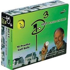Almost Golf Ball Pack, 10 Balls per Package - Yellow Gifts For Golfers, Golf Gifts, Golf Practice, Website Features, Golf Humor, Golf Ball, Improve Yourself, Packing, Baseball Cards