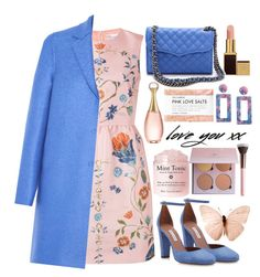 """""""💗"""" by fashioneex ❤ liked on Polyvore featuring Tabitha Simmons, RED Valentino, Christian Dior, Harris Wharf London, Tom Ford, Rebecca Minkoff, Fig+Yarrow, Anastasia Beverly Hills and Luxie"""