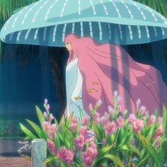 Studio Ghibli Art, Studio Ghibli Movies, Anime Manga, Anime Art, Studio Ghibli Characters, Psychedelic Drawings, Pix Art, Aesthetic Painting, Hayao Miyazaki