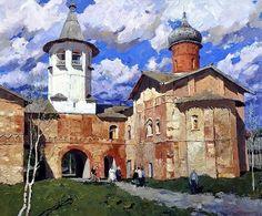 Стожаров Владимир Фёдорович (1926-1973) «Новгород» 1970