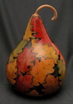 Autumn Gallery - Bev's Hand Crafted Gourds