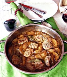 ¡Sano y de rechupete!: Estofado de solomillo de cerdo con manzana