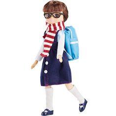 Lottie l'écolière en route pour l'école ! 19,99€