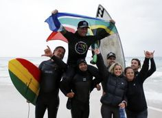 South African surfer breaks world record for longest surf session: Guinness World Record breaker Josh Enslin Guinness World, World Records, Billabong, South Africa, Surfing, African, Surf, Surfs Up, Surfs