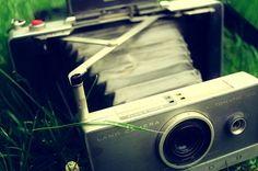 Polaroid Land Camera.