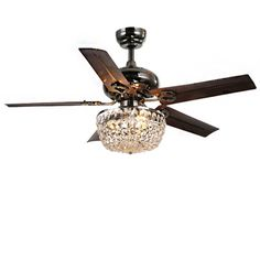 Hunter 54-inch Cortland New Bronze 5-blade Dark Cherry/ Walnut Fan | Overstock.com Shopping - The Best Deals on Ceiling Fans