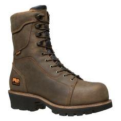 Men's Timberland PRO® Rip Saw Comp Toe Logger Boots - Timberland