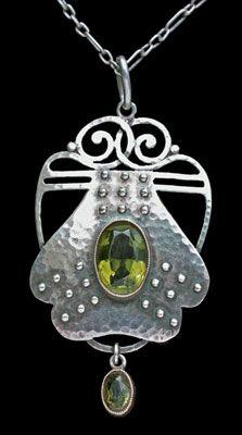 Murrle Bennett & Co., silver, gold, tourmaline