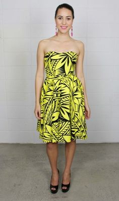 Analei Tribal Print Dress - Resort 2012 : MENA Dresses