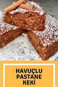 Havuçlu Pastane Keki – Nefis Yemek Tarifleri How to make Carrot Patisserie Cake Recipe? Here is the illustrated description of Carrot Patisserie Cake Recipe in the book of people and the photos of the experimenters. Gourmet Recipes, Cake Recipes, Dessert Recipes, No Bake Desserts, Easy Desserts, Patisserie Cake, Light Snacks, Chocolate Desserts, Chocolate Cake