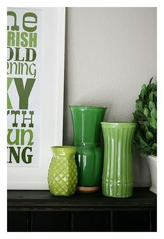 Paint the inside of your vases for a quick DIY decor facelift