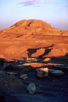 White Temple Uruk, Iraq, 3500BC    In present-day Warka, Iraq — the ancient Sumerian city of Uruk and home of the legendary Gilgamesh.