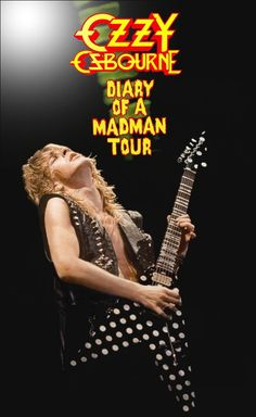 Randy Rhoads Live Stand-Up Display Heavy Metal Rock, Heavy Metal Music, Diary Of A Madman, Learn Guitar Chords, Black Label Society, Rock Posters, Music Posters, Ozzy Osbourne, Gus G