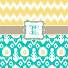 Items similar to Custom Personalized Chevron Ikat and Ikat Combo Shower Curtain - in your color specification on Etsy Girl Bathrooms, Custom Shower Curtains, Girl Room, Ikat, Chevron, Initials, Monogram, Trending Outfits, Unique Jewelry