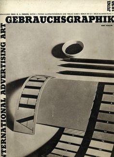 https://flic.kr/p/ejaxew | Gebrauchsgraphik: International Advertising Art, No. 6, June 1930