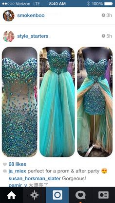 Perfect prom dress and after party dress