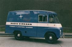 Van Car, Old Commercials, Signwriting, Dublin City, Commercial Vehicle, Old Trucks, Old Photos, Cars And Motorcycles, Vintage Cars