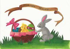 Pâques - Draw On Monday #24
