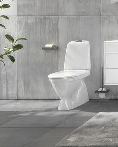 Toalettstol Nautic 1500 - dolt s-lås, Hygienic Flush