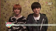"""명수-♡ """"@Inspirit_ID: 140318 CAPS L and Sungjong in ASC to support ToHeart pic.twitter.com/rriXTwRu7O"""""""
