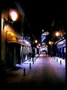 Madrid. Calle Nuñez de Arce.   Hotel Madrisol.