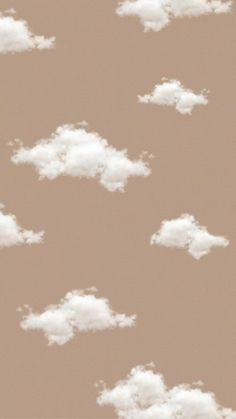 Aesthetic beige cloud wallpaper ~ Credits to Original Owner ♡~ Cloud Wallpaper, Brown Wallpaper, Iphone Background Wallpaper, Tumblr Wallpaper, Disney Wallpaper, Wallpaper Quotes, Wallpaper Iphone Vintage, Hipster Wallpaper, Pastel Wallpaper Backgrounds