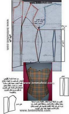 Some DIY Corset patterns using deconstructed shirts as patterns I believe Sewing Paterns, Corset Sewing Pattern, Dress Sewing Patterns, Blouse Patterns, Clothing Patterns, Frock Patterns, Pattern Draping, Bodice Pattern, Bra Pattern