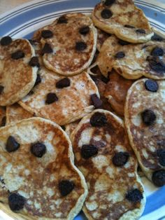 Protein Flaxseed Pancakes : I need to start eating more flaxseed.