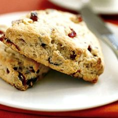 "Jennifer Wickes of Pine Beach, New Jersey, writes: ""I grew up in Bermuda learning to make English sweets like these scones. You can adapt the recipe to any season by adding a different mix of berries and nuts. This combination is perfect for fall."""