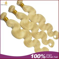AAAAA top quality 100% virgin hair weft 613 brazilian human hair weave  with DHL free shipping US $110.60