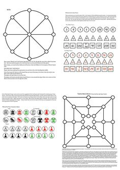 FREE 8 1/2 x11 Medieval games pdf by janinwise