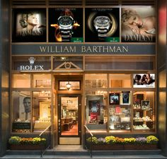 Our Manhattan Storefront, located at 176 Broadway, New York, NY 10038 - where Sal buys the engagement ring for Gemma! New York To Paris, Two Store, Store Image, 6 Photos, Store Fronts, Four Square, Signage, Raymond Weil, Brooklyn Nets