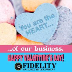 "Happy Valentine's Day | We ""Heart"" our Colorado Real Estate Community at Fidelity National Title Company (Colorado)"