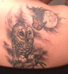 Love my owl tattoo
