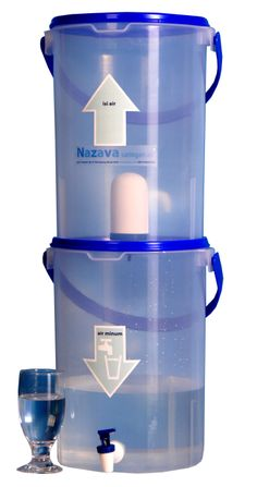 Water Filtration system by Nazava