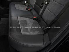Alcantara® Perfo nimbus + Leather Look anthrazit Bmw, Car Seats, Vehicles, Leather, Car, Vehicle, Tools