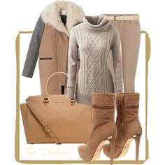 """""""cozy"""" by tinadhaliwal on Polyvore winter look"""