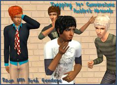 E's y Science kaheic kenm - Four of Trapping's Sims 3 Hair Conversions in All of Pooklet's Naturals!