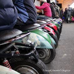 Ride n eat in Camden Market, London