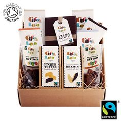 Costco UK - Cocoa Loco Organic Chocolate Hamper, Costco £31.99