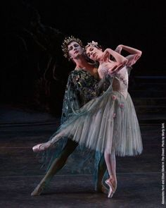 Alessandra Ferri an Ethan Stiefel in Midsummer night's dream