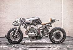 BMW R100RS Cafe Racer Silver Bullet
