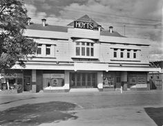 Hoyts Plaza Theatre, Russell Street, Essendon. Now Ukranian House and holds record fairs twice a year.