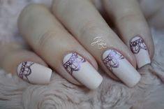 Kakine Nail Art: Lunule en dentelle