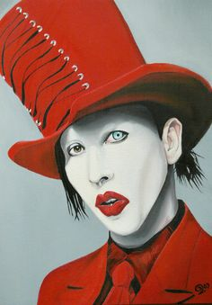 Marilyn Manson I love this picture of him...which board do I pin it to? Celebrate your weird! Of course!