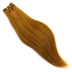 "16"" 100% Remy Human Weaving Hair, 27 Strawberry Blond at I Kick Shins"